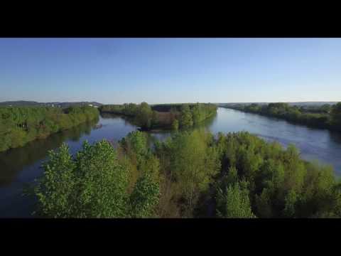 Vidéo aérienne du confluent - Nicole  - Buzzfilm Production - Lot&Garonne 47