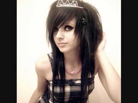 cute emo hairstyles