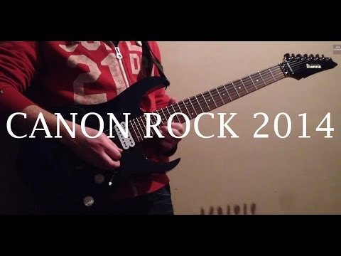 Canon Rock 2014 Shred Metal Cover Version Pete Lockhart