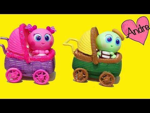 Ksi Mami Andre pinta carriolas para los mini casimeritos   Jugando con bebes de juguete Distroller