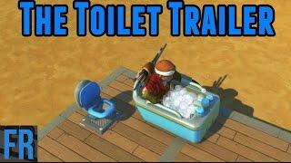 Scrap Mechanic - The Toilet Trailer