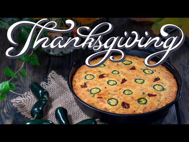 Thanksgiving Side Dishes: Skillet Cornbread