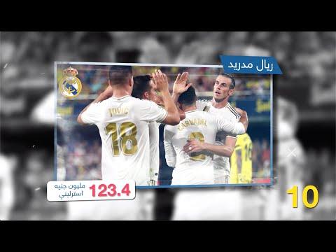 ريال مدريد متذيل القائمة.. أكثر الأندية الحاصلة على عوائد البث التلفزيوني  - نشر قبل 16 ساعة
