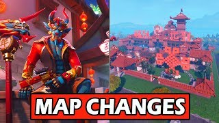 *NEW* CHINESE NEW YEAR MAP CHANGE! BOTTLE ROCKETS COMING TO FORTNITE BATTLE ROYALE