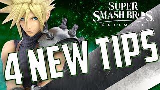 4 NEW TIPS TO HELP LEVEL UP YOUR CLOUD! | SUPER SMASH BROS ULTIMATE CLOUD GUIDE FOLLOW-UP