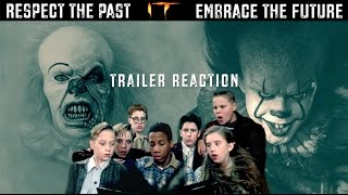 IT: 90's Losers Club (NOT THE ACTORS IN REAL LIFE) react to the new Trailer
