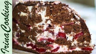 Шоколадный торт со сметанным кремом (Кучерявый пинчер упрощенный)(Очень нежный и вкусный шоколадный торт со сметанным кремом - один из упрощенных вариантов известного торта..., 2015-07-17T19:34:27.000Z)