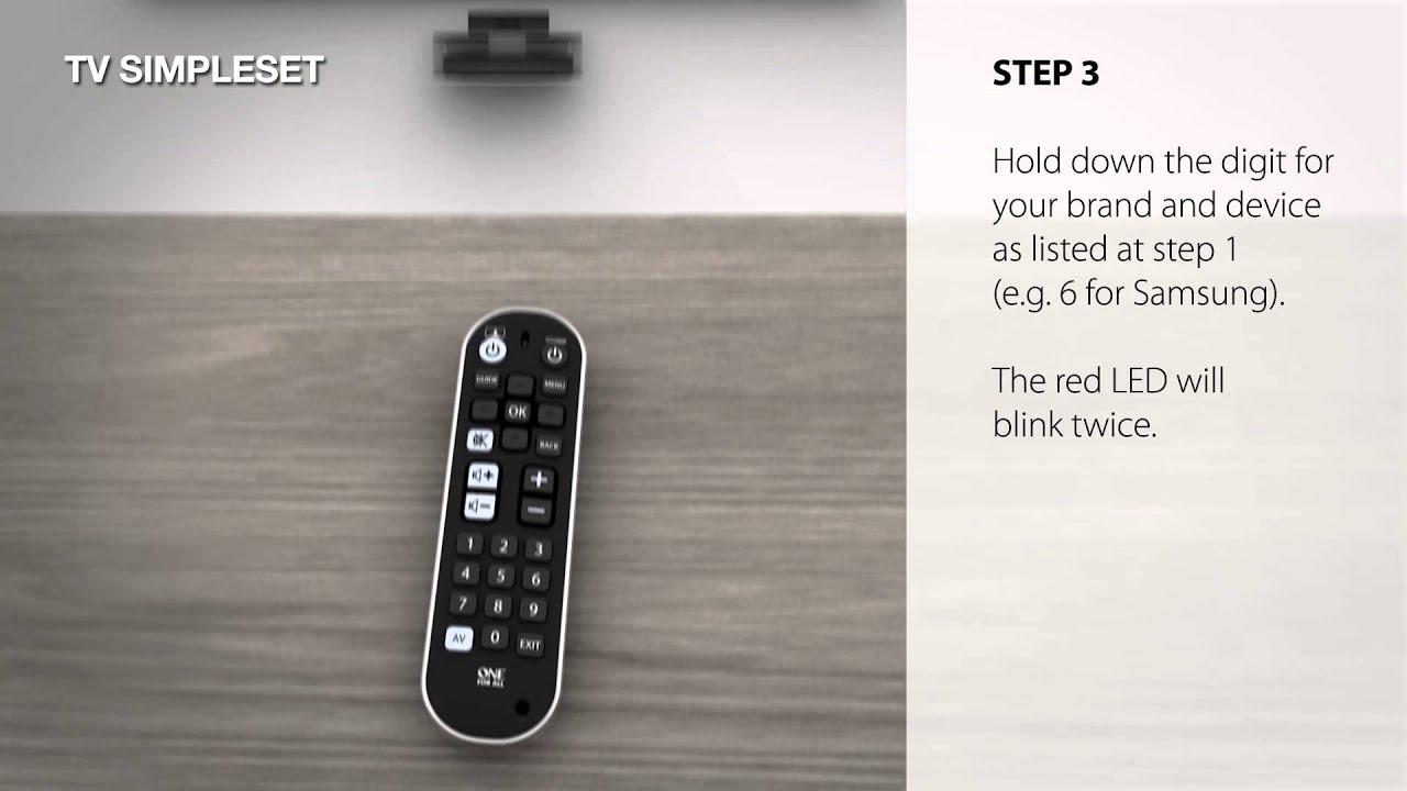 c2e2f3b17 OFA URC 6820 TV Zapper + jednoduché ďiaľkové ovládanie - VeGa solutions  s.r.o.