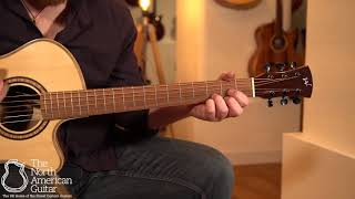 Andrew White Cybele 1022 NAT Electro-Acoustic Guitar Played By Ben Smith (Part One)