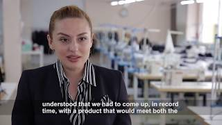 In the COVID-19 response UN Women Moldova and Sweden support local businesses run by women