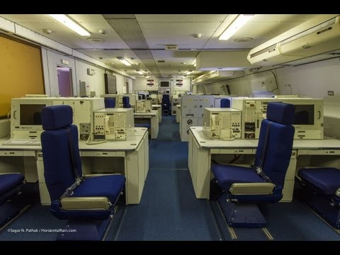 Guided Tour Inside the E-4B NAOC Doomsday Plane