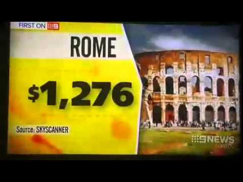 The Blue Sign and World Ventures on Nine News