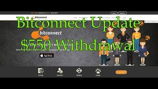 Update - Bitconnect $550 Withdraw - November 9, 2017