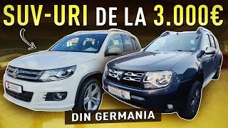 SUV-uri de la 3.000 euro care MERITA cumparate din Germania!!