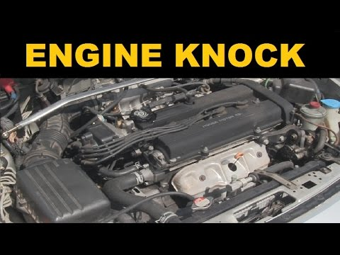 Engine Knock Sound - Explained