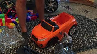 Обзор детской машинки-каталки Numo Toys