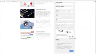 Setting up a Gmail / Google Account