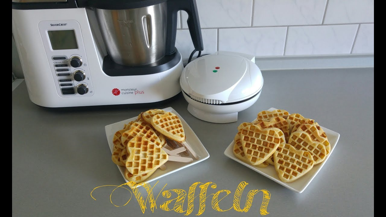 Belgische Waffeln In Der Monsieur Cuisine Plus Thermomix вафли