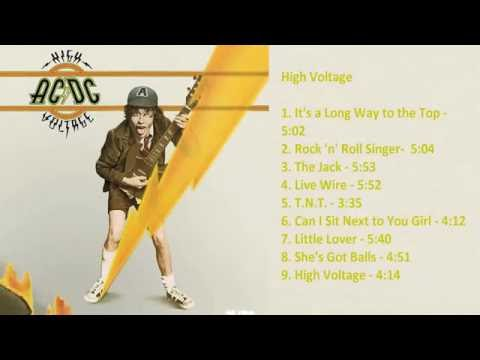 AC/DC - High Voltage [Full Album]