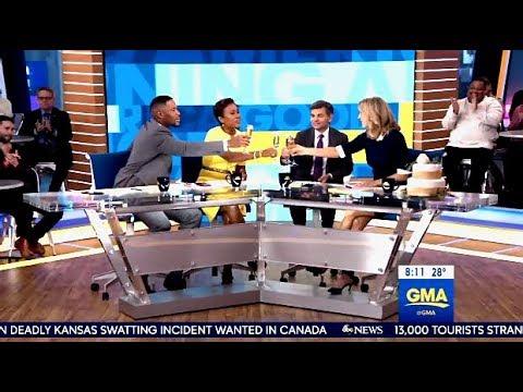 GMA Celebrates Lara Spencer's Engagement On Morning Set