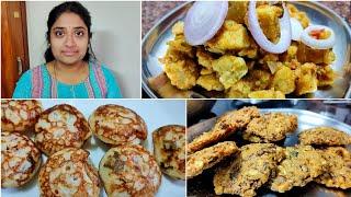 மதமளள இடல மவல பணயரம seeralam recipe  Vazhaipoo vadai  Night to Morn vlog