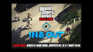 Grand Theft Auto V Online modo adversario DENTRO Y FUERA V (parte 3)