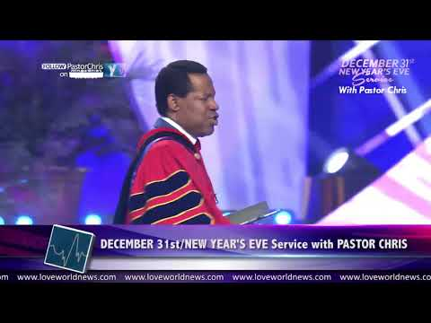"""� is the Year of the Supernatural!"""" — Pastor Chris Oyakhilome"""