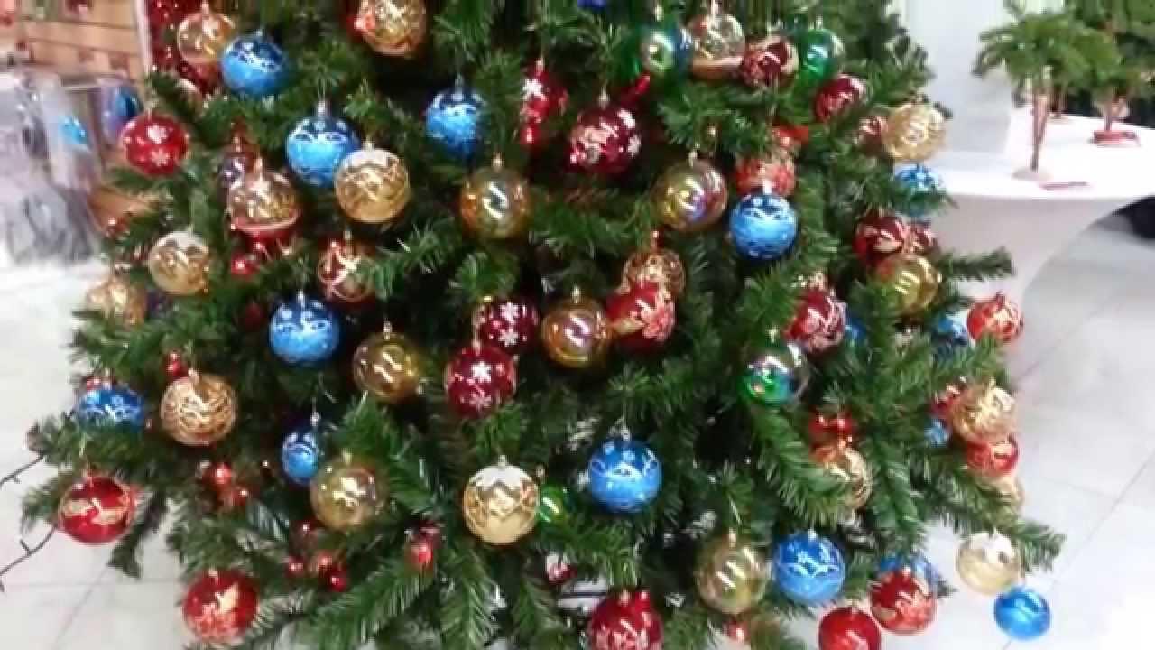 Decoracion arboles de navidad 2017 con bolas parte 5 youtube - Arboles navidad decoracion ...