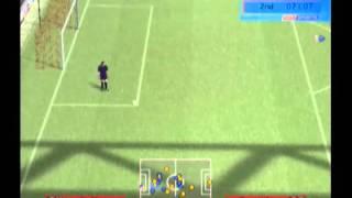 Brazil vs Italy - World Soccer Winning Eleven 8 (Xbox)