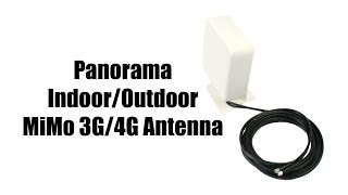 Panorama Indoor/Outdoor MiMo 3G/4G Antenna(Panorama's WMMG antenna contains two separate 3G/4G antennas in one compact antenna housing. It is typically used with routers/gateways that have ..., 2015-03-06T19:15:43.000Z)