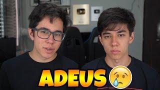 CHEGOU A HORA DE DIZER ADEUS!!