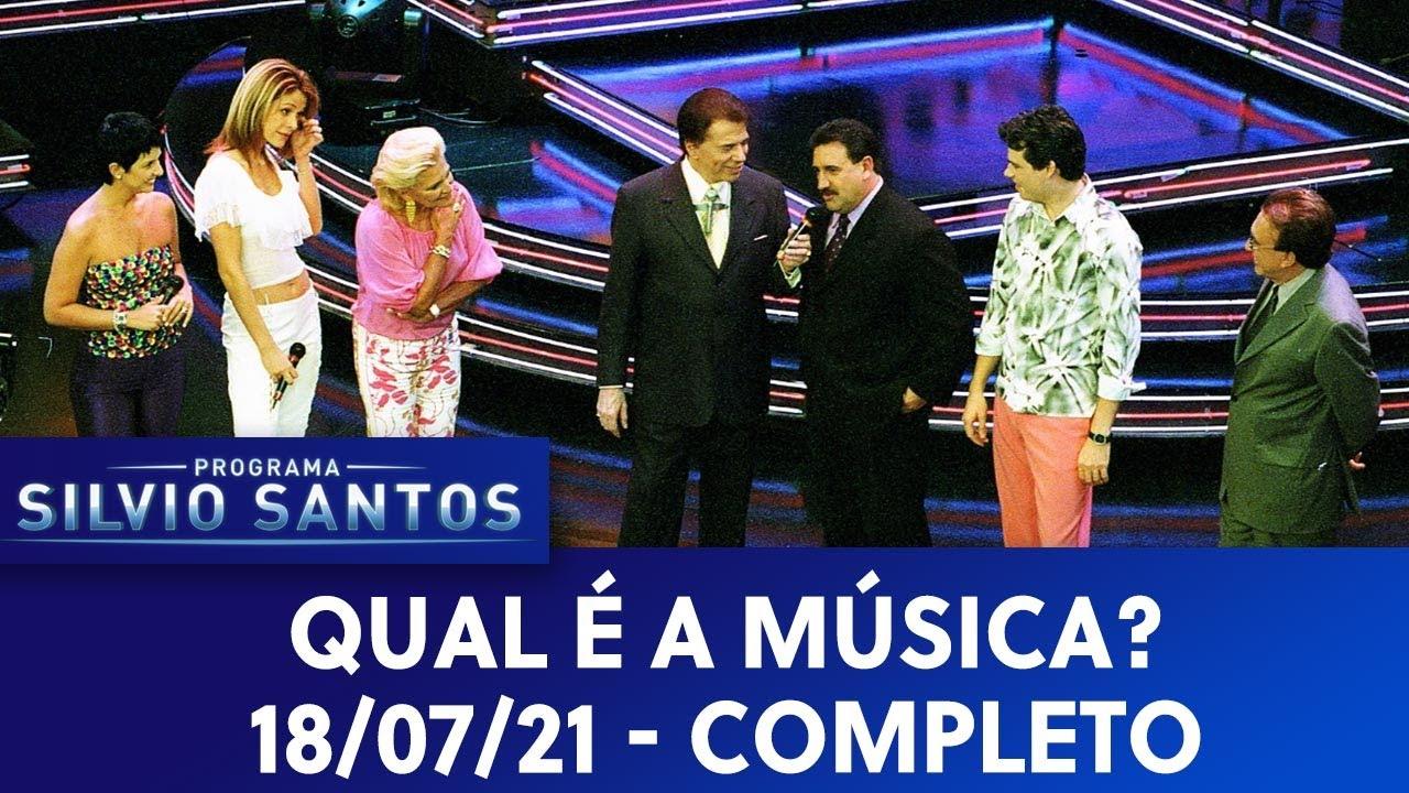 Qual é a Música - Completo | Programa Silvio Santos (27/01/2002)