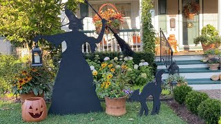 Garden Witch and Cat | Martha Stewart Design 🧙‍♀️🍁