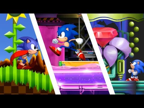 Sonic HD, Sonic 2 HD \u0026 Sonic 3 HD | Sonic Fan Games ❄ Walkthrough