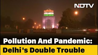"""Air Quality In Delhi, Adjoining Areas Falls To """"Severe"""" Category"""