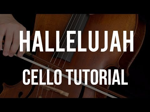 How to play Hallelujah on Cello