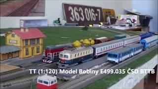 TT (1:120) Model Bobiny E499.035 ČSD BTTB