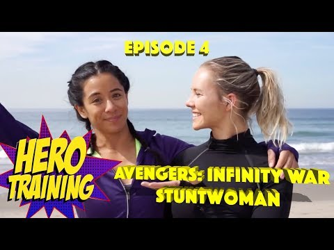 Avengers Infinity War Stuntwoman Tara Macken  Hero Training Episode 4