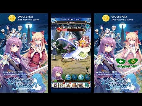 Eternal Senia - Hydrangea After The Rain (English - International release) - Tap RPG Gameplay