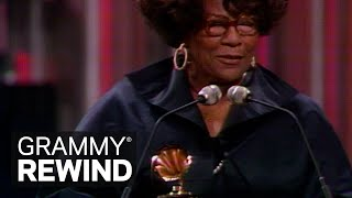 Ella Fitzgerald Wins Best Jazz Vocal Performance In 1977 | GRAMMY Rewind