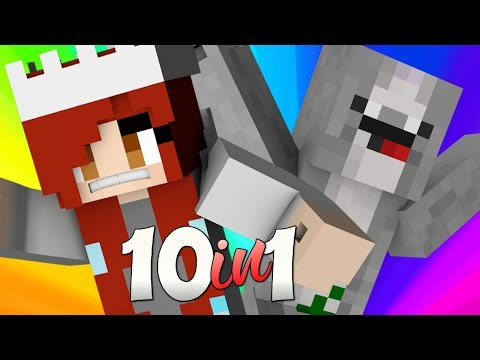 NEVER LET GO JACK | Minecraft 10 in 1
