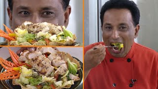 Healthy Salad Recipes For Weight Loss -  With Vahchef Special Dressing