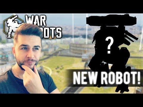 WE UNLOCKED A NEW ROBOT FROM THE BLACK MARKET! CHEST OPENING | War Robots