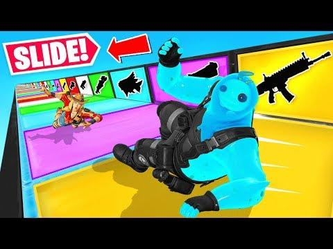 *NEW* Fortnite SLIDE For LOOT Deathrun in Fortnite Battle Royale