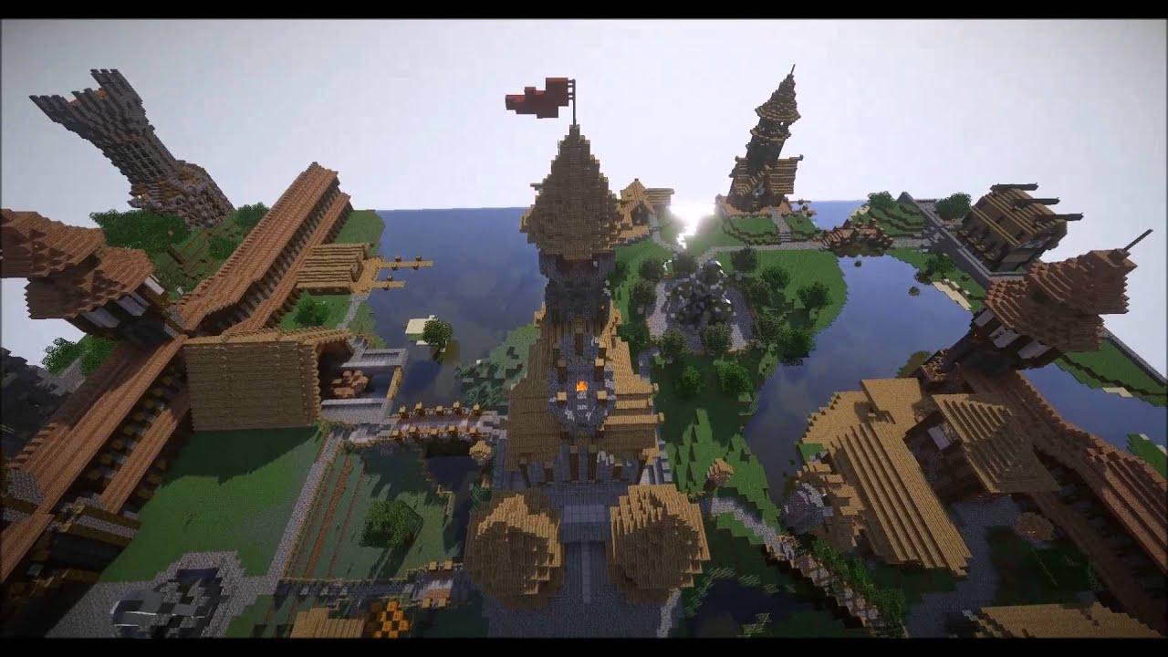 Minecraft Burg Cinematic Auf Craftstuebchen De By John