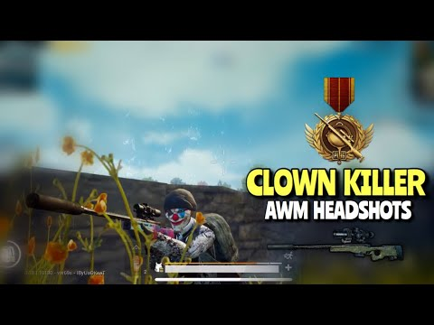 AWM Headshots | PUBG Mobile | Random Matchmaking In Ace!