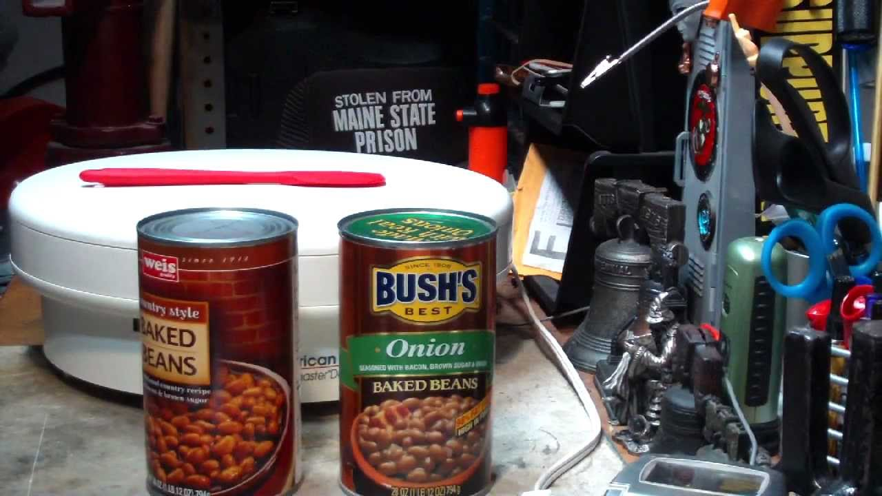 How I Dehydrate A Can Of Baked Beans