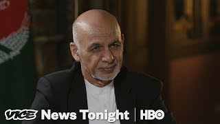 Afghanistan's President Says Trump's Taliban Strategy Is Working (HBO)