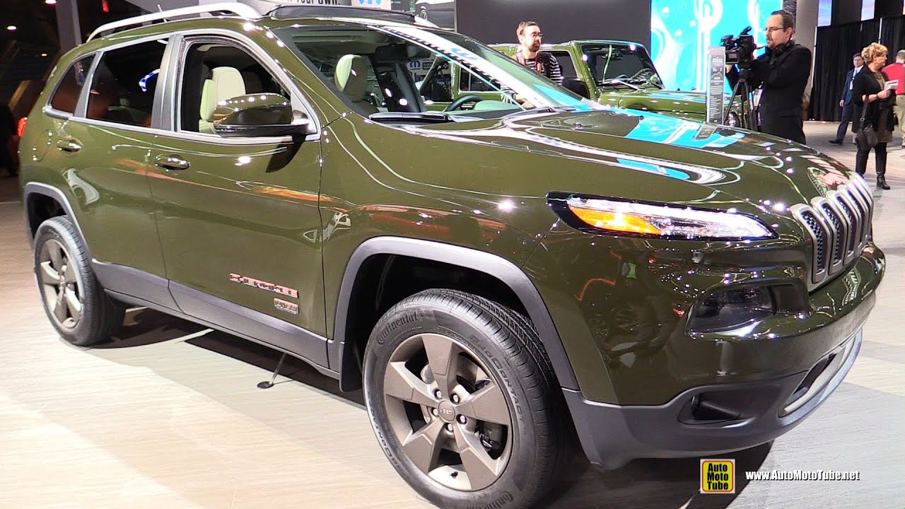 2016 Jeep Cherokee 75th Anniversary Edition Exterior Interior