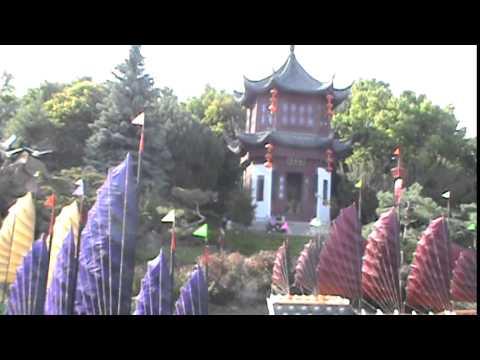 Chinese Garden, Montreal Botanical Garden,Quebec, Canada
